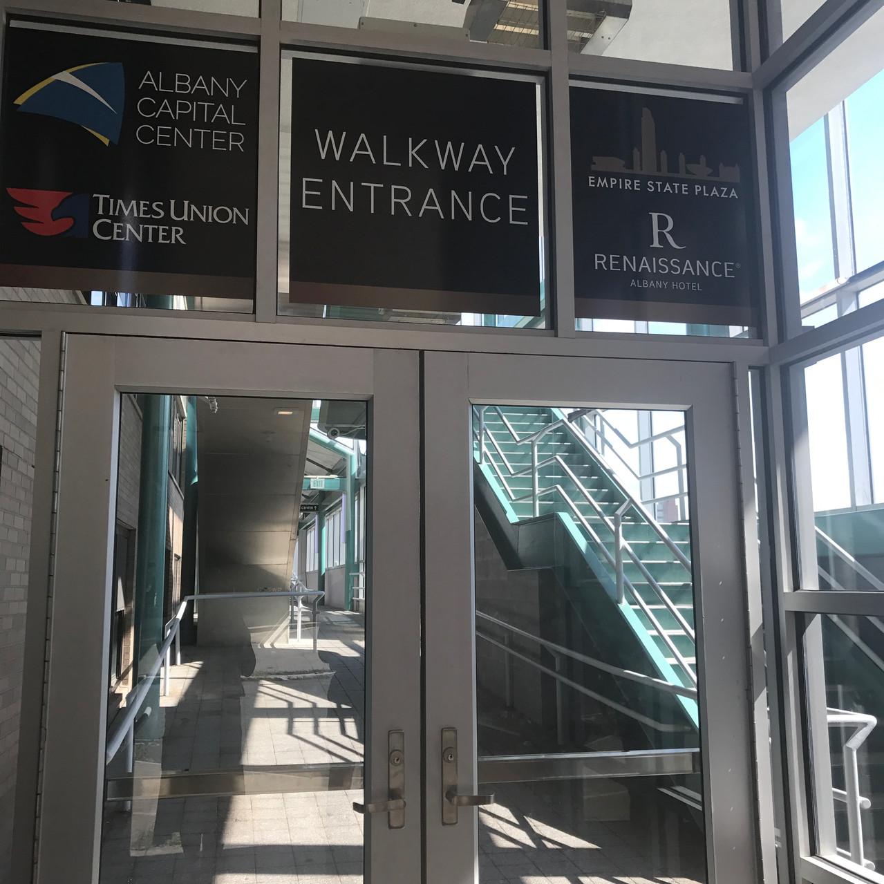 Eagle St. Entrance