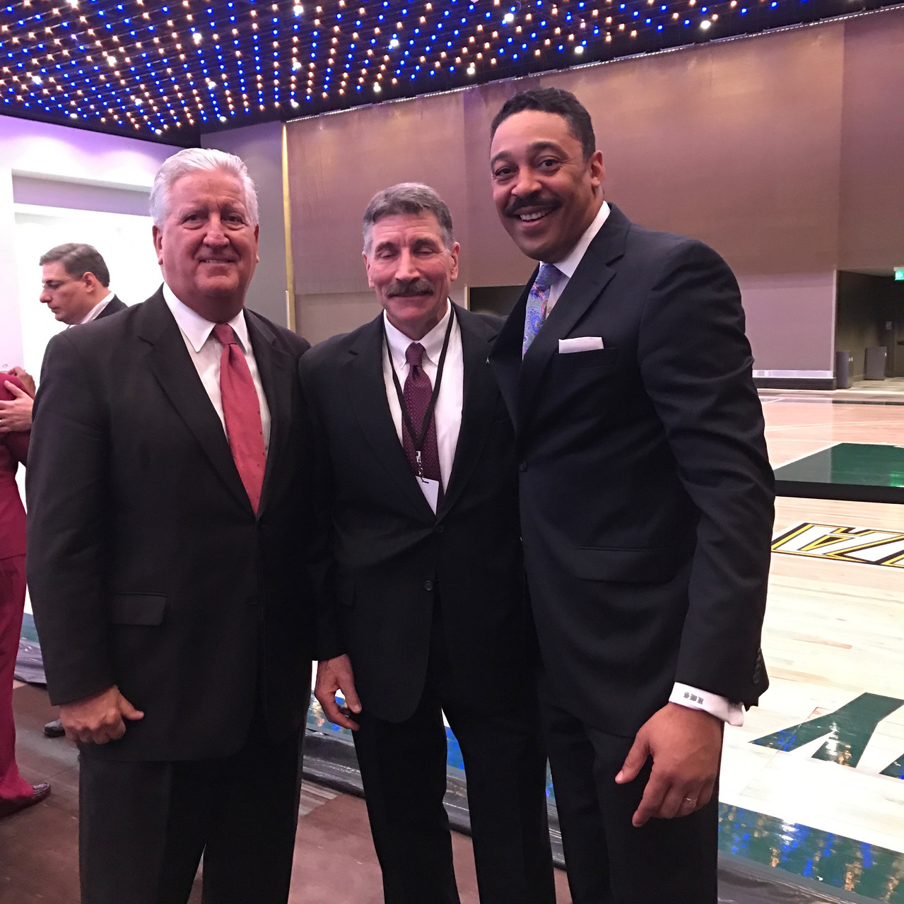 Former Albany Major Jennings, Duncan Stewart CEO of ACCA, and Shawn Hamlin of Hamlin Design Group celebrate at the ribbon cutting event