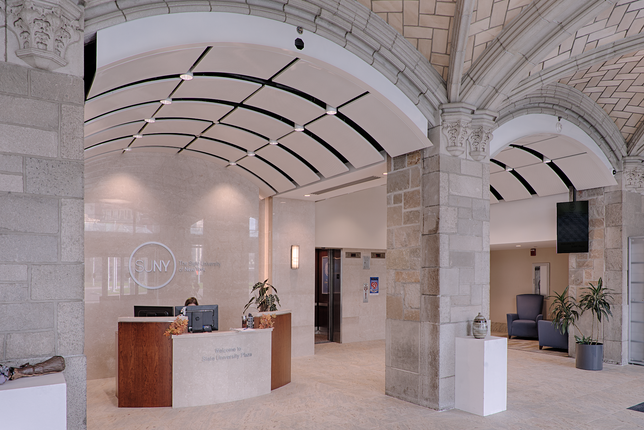 Ceilings, Lighting, Reception Area, Secure Entry