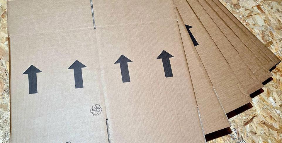 Larger Packing Box