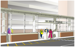 Albany Airport HOV Canopy