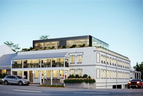 Commercial Exterior 3D Rendering