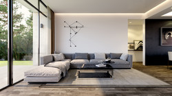Morphe Interior 3D Visualization Living room Dalkeith - Fin