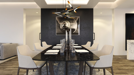 Australia | Perth 3D Interior Rendering | Dining