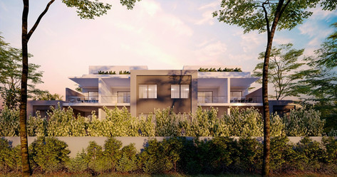 Oxford Street Leederville Apartment Building 3D rendering