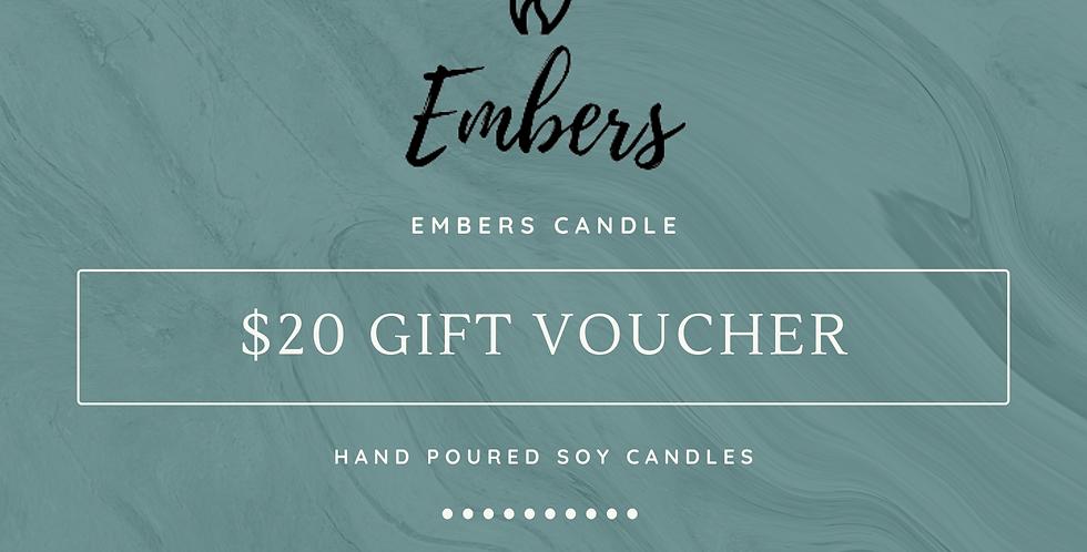 $20 Gift Voucher