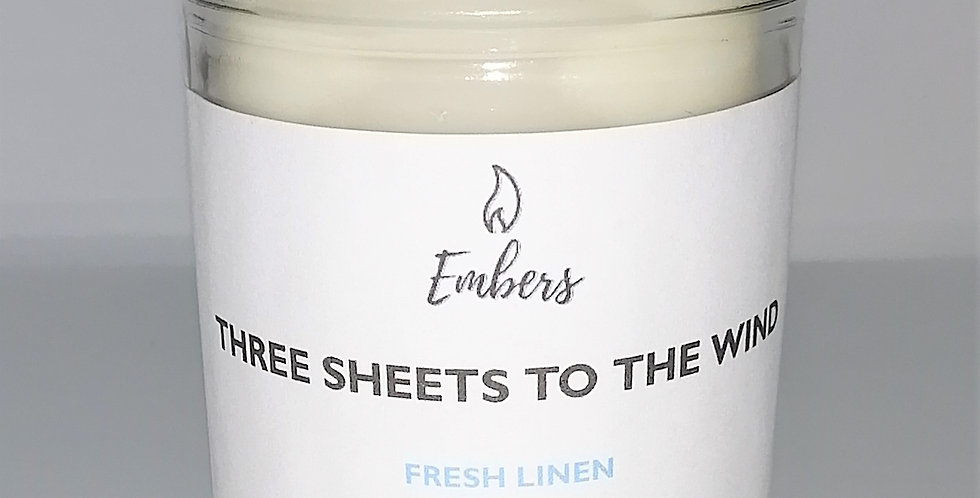 Three Sheets To The Wind -   DISCONTINUED 8 oz Candle
