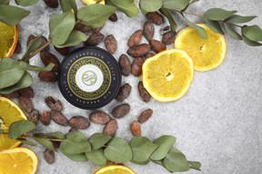 Kakaovo pomarančové máslo