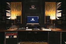 Soundbox Studios, Adam A7X, Focusrite Red 3, Apogee Symphony, Vicoustic, Mackie Big Knob, iMac, Avid Artist Mixer