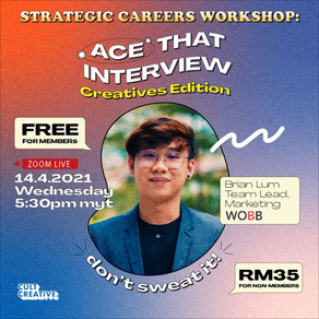 Ace That Interview Workshop [Creative's Edition]