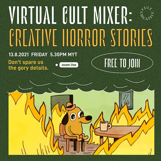 Friday The 13th Cult Mixer: Creative Horror Stories