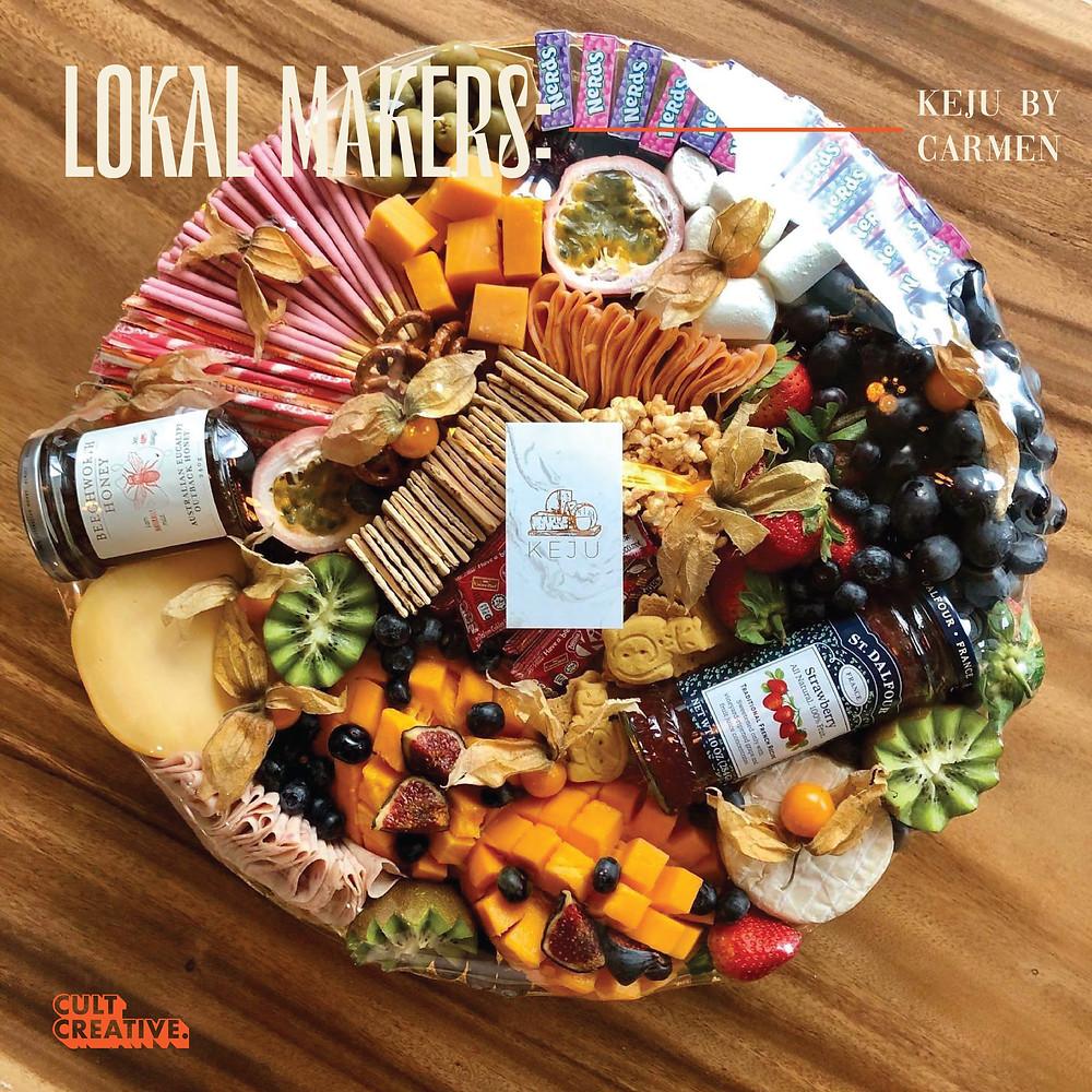 KEJU By Carmen Cheese Grazing Platter Malaysia