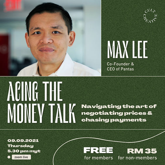 Cult Creative: Acing The Money Talk—Negotiating Prices & Chasing Payments