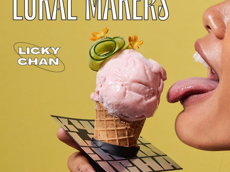 Licky Chan: Unique and Boozy Ice Cream Flavours