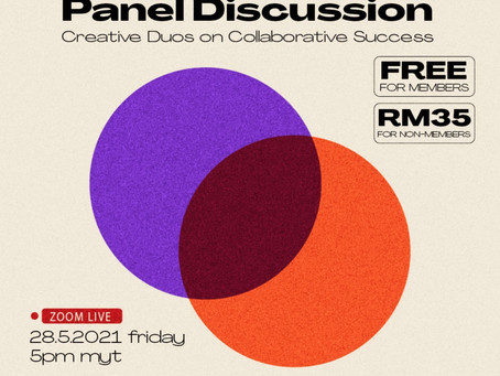 Two Of A Kind Panel Discussion: Creative Duos on Collaborative Success