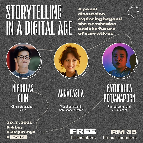 Cult Creative Panel Discussion: Storytelling In A Digital Age