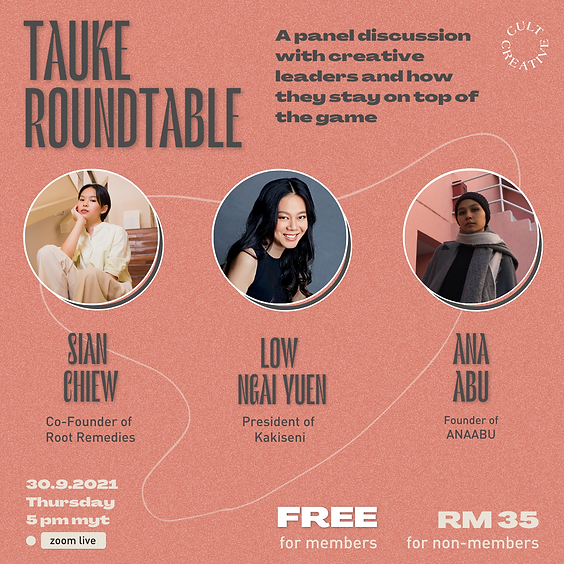 Cult Creative Panel Discussion: Tauke Roundtable