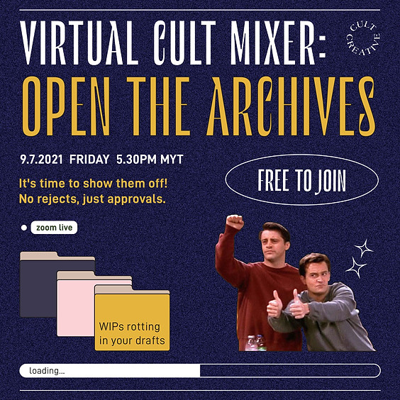 Cult Creative Virtual Cult Mixer: Open The Archives