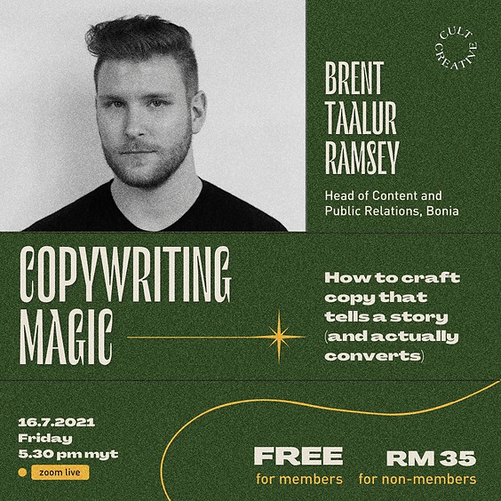 Cult Creative Workshop: Copywriting Magic