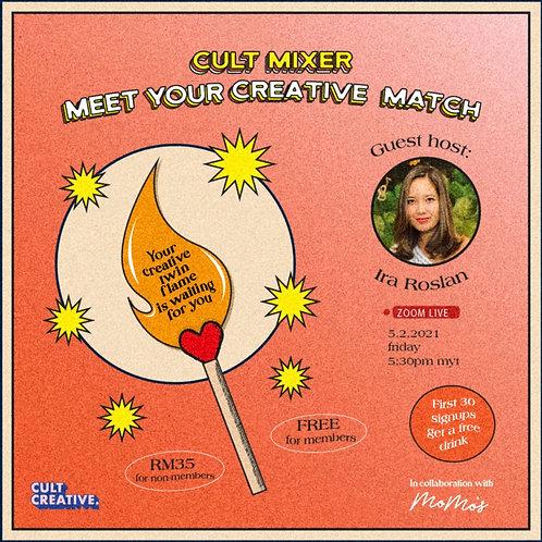 Cult Mixer: Meet Your Creative Match