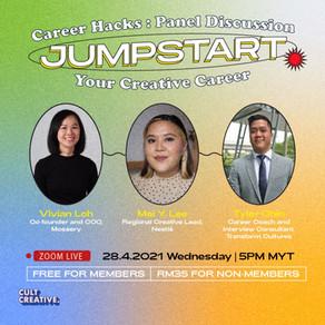 Career Hacks Panel Discussion: Jumpstart Your Creative Career