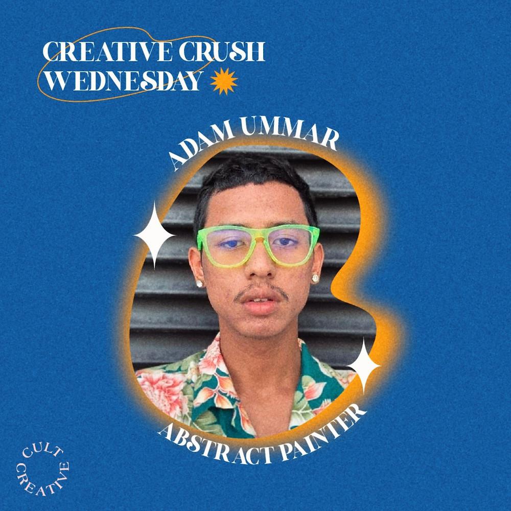 Adam Ummar Abstract Painter Artist Malaysia Local