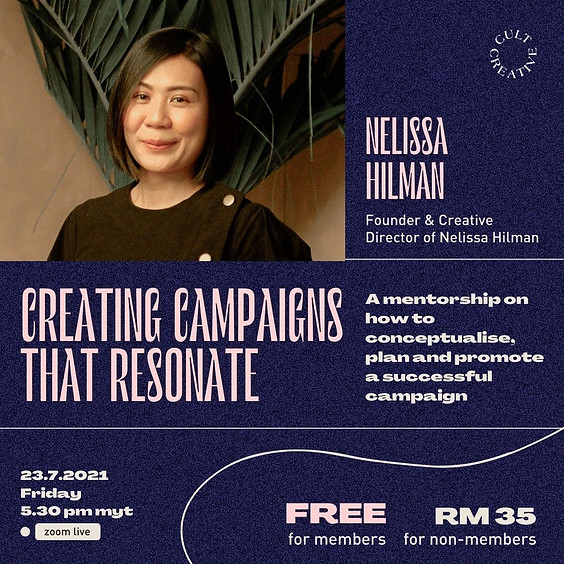 Cult Creative Mentorship: Creating Campaigns That Resonate