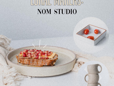Get Your Dream Tableware at Nom Studio