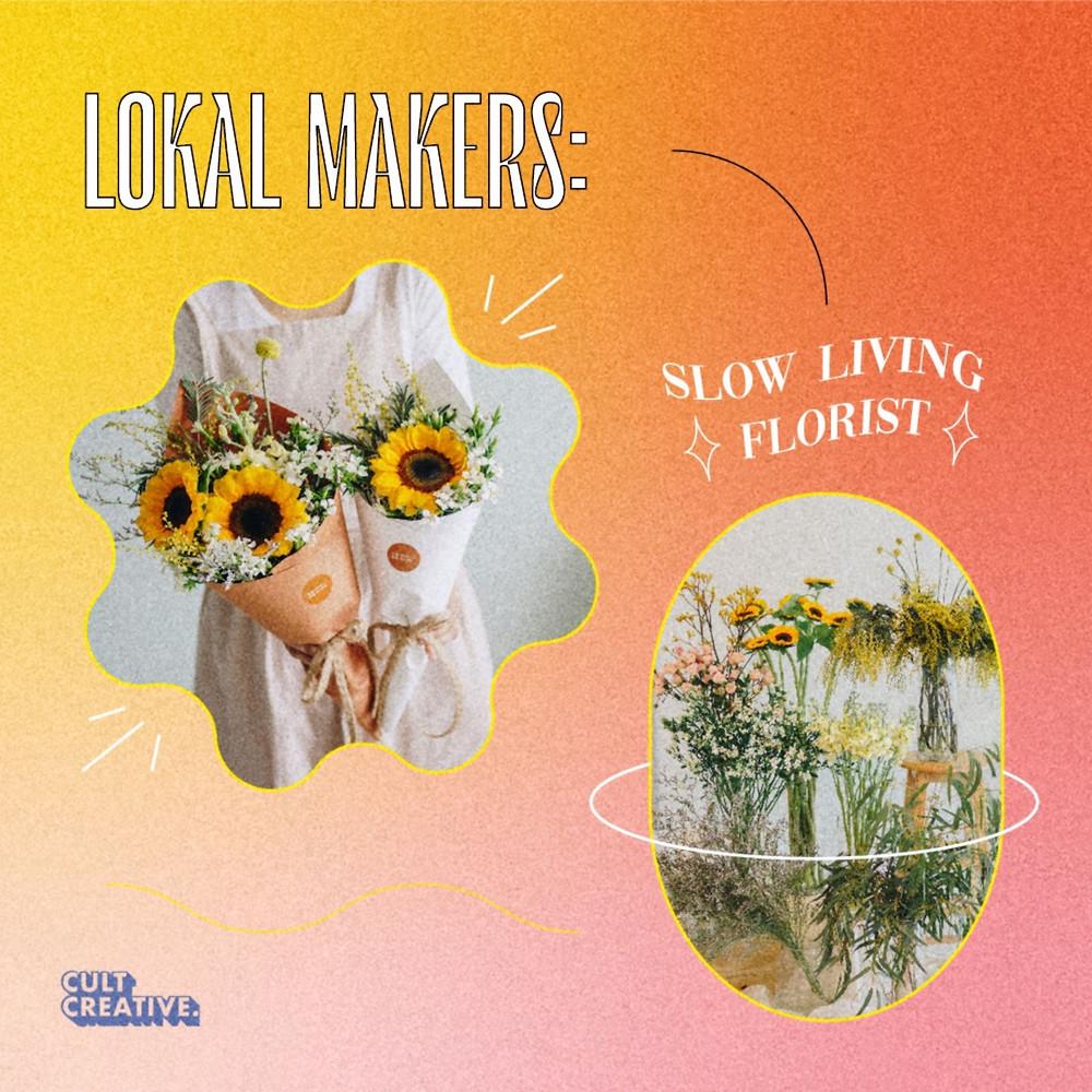 Slow Living Florist Local Brand Malaysia Flower Arrangements