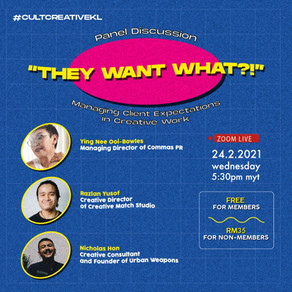 A Panel Discussion on Clients: How To Deal With Them, Manage Expectations and Network