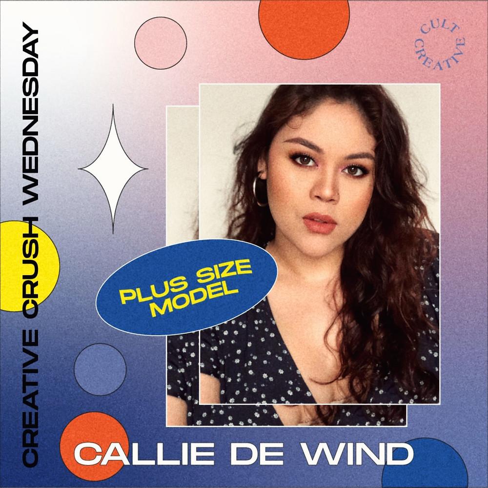 Plus Size Model Malaysia Callie De Wind