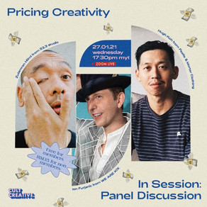 Pricing Creativity Panel Discussion With Zulamran Hilmi, Hugh Koh and Ion Furjanic