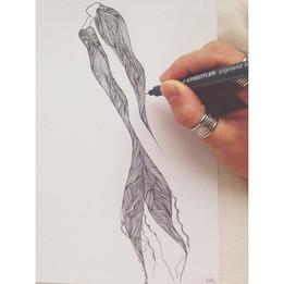 Mermaid in the making 💫💦🐠 #mermaid #a