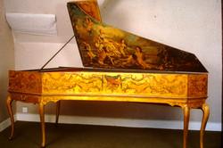 Exposition de clavecins historiques