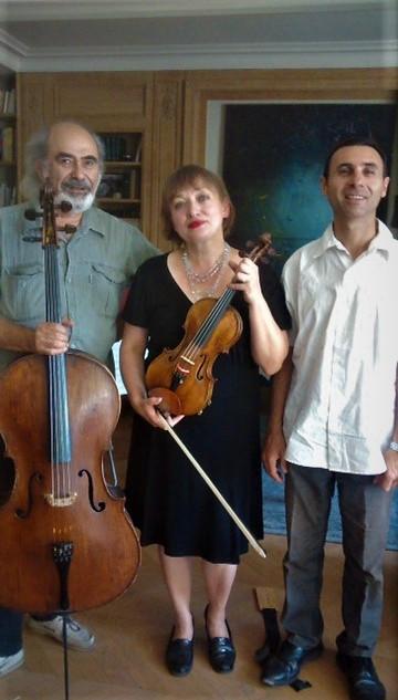 photo du trio Drobinsky