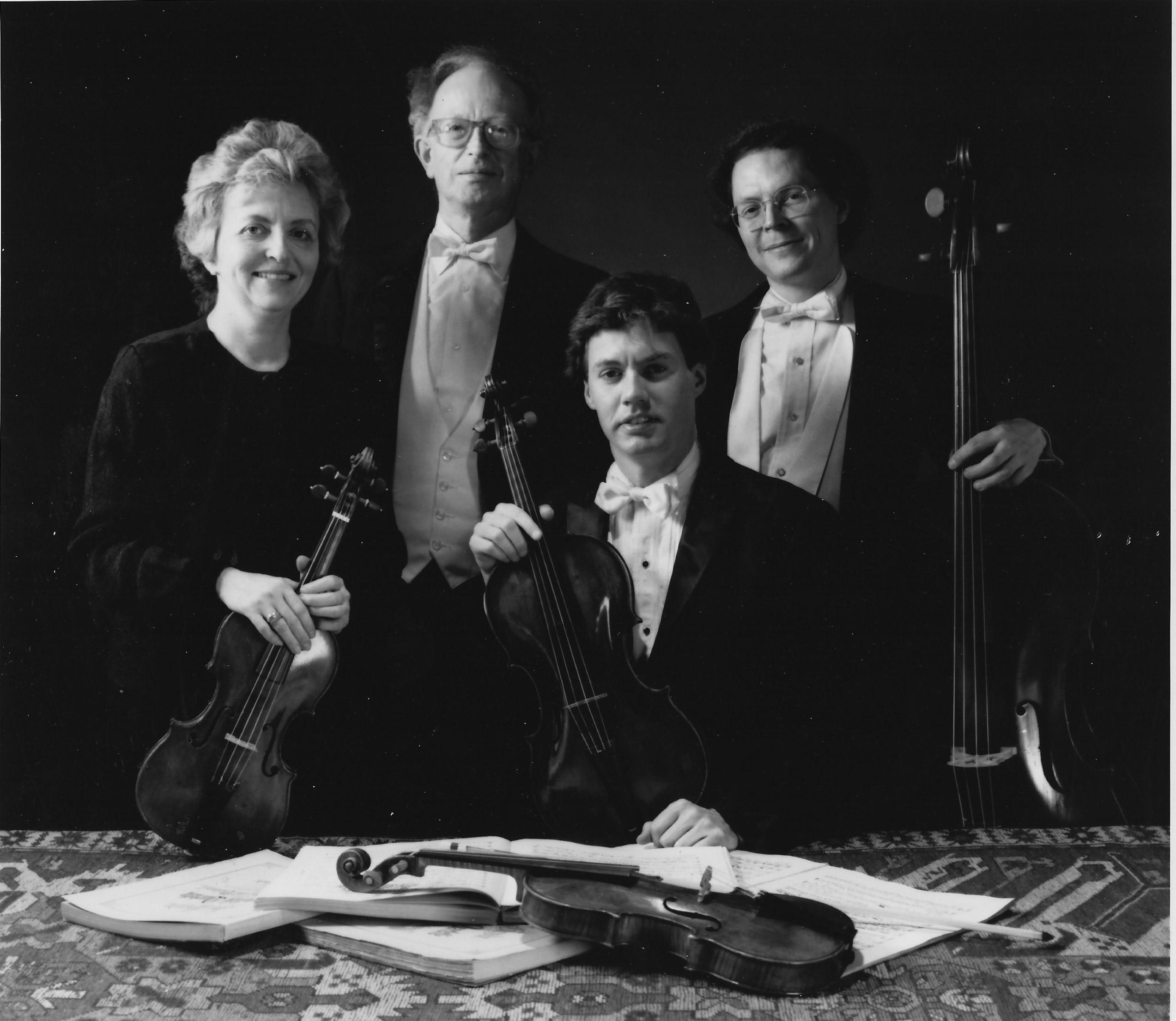 Smithsonian Quartet de Jaap Schroed