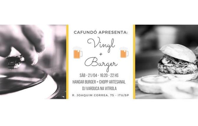 Vinyl + Burger
