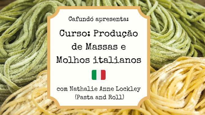 Curso: Produção de Massas e Molhos Italianos