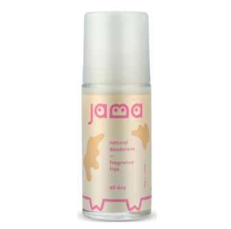 Jama All Day Natural Deodorant Fragrance Free 50ml