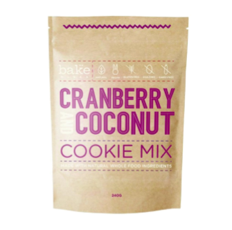 Bake Mixes Cranberry & Coconut Cookie Mix 250gm