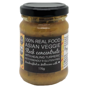 Broth Sisters Asian Veggie Stock Concentrate 170gm