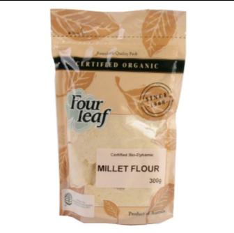 Four Leaf Milling Bio Millet Flour 300gm