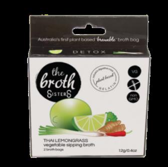 Broth Sisters Thai Lemongass Sipping Broth 2 Bag