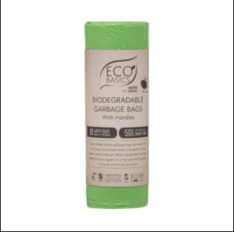 Eco Basics Biodegradalbe Garbage Bag 50lt 10 Bags