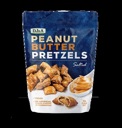 DJ & A Products Peanut Butter Pretzels 80gm