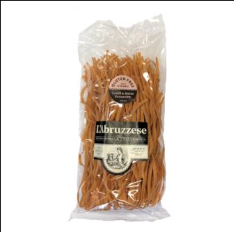 L'Abruzzese Organic Lentil & Maize Fettuccine (GF) 375gm