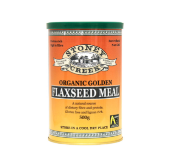 Stoney Creek Organic Flaxseed Meal 500ml