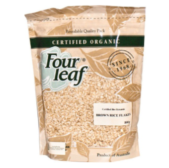 Four Leaf Milling Organic Brown Rice Flakes 800gm