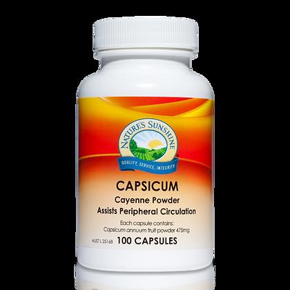Nature's Sunshine Capsicum 475gm 100 Cap