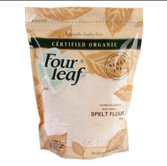 Four Leaf Milling Organic Wholemeal Spelt Flour 1kg